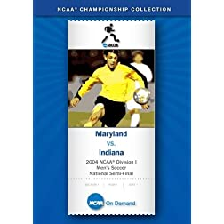 2004 NCAA Division I  Men's Soccer National Semi-Final - Maryland vs. Indiana