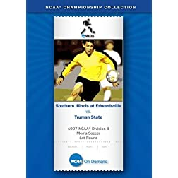 1997 NCAA Division II  Men's Soccer 1st Round - Southern Illinois  at Edwardsville vs. Truman State