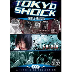 Tokyo Shock Horror Pack Triple Feature (Japanese Hell, Cursed and Samurai Chicks)