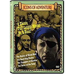 Icons of Adventure Collection (The Pirates of Blood River / The Devil-Ship Pirates / The Stranglers of Bombay / The Terror of the Tongs)
