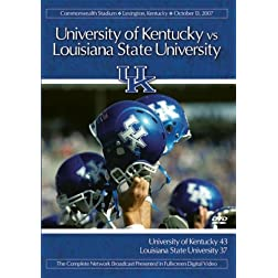 2007 Kentucky vs. LSU    TM0387