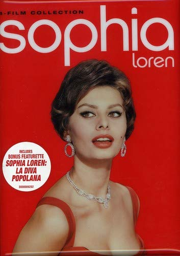 Sophia Loren 4-Film Collection (Neapolitan Carousel / Attila / Madame Sans-Gene / Sunflower)