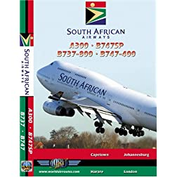 South African Airways Airbus A300, Boeing 737-800, Boeing 747SP & Boeing 747-400
