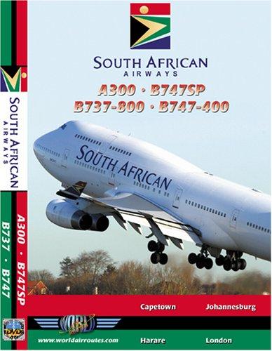 South African Airways Airbus A300, Boeing 737-800, Boeing 747SP & Boeing 747-400