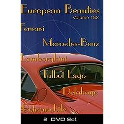 European Beauties Volume 1&2 - 2 DVD set