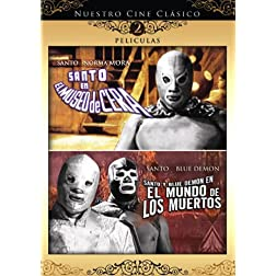Santo en el Museo de Cera/Santo y Blue Demon en el Mundo de Los Muertos