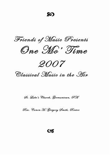 One Mo' Time 2007