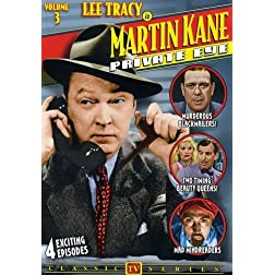 Martin Kane Private Eye Vol 3