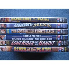 The Lone Rider Collection Vol 1 (Death Rides The Plains / Ghost Mine / The Lone Rider and The Bandit / The Lone Rider Fights Back / Outlaws of Boulder Pass / Rider of The Plains (aka The Lone Rider Rides On)