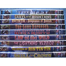 Rin Tin Tin Collection Vol 1 (Adventures of Rex and Rinty / Caryl of The Mountains / Law of the Wild / Lightning Warrior / Lone Defender / The Return of Rin Tin Tin / Skull and Crown / The Test / Vengeance of Rannah)