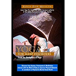 Yoga for Sleep Disorders and Insomnia