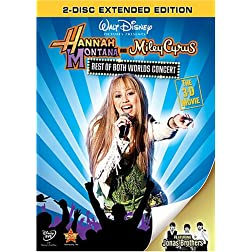 Best of Both Worlds Concert: The 3-D Movie: Extended Edition