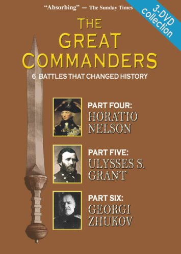 THE GREAT COMMANDERS 3-DVD SET, Parts 4,5,6