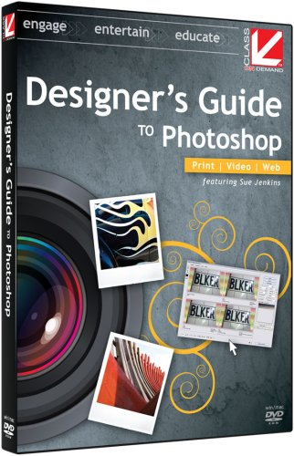 Class on Demand: Photoshop CS3 2008 - Designer's Guide to Photoshop: Adobe Photoshop CS3 Educational Training Tutorial DVD for Print, Web, Video Production, and 3D