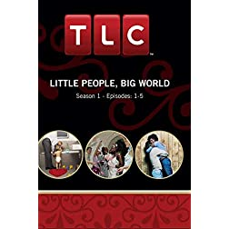 Little People, Big World Season 1 - Episode: 1-5 (Part of DVD set)