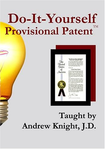Do-It-Yourself Provisional Patent