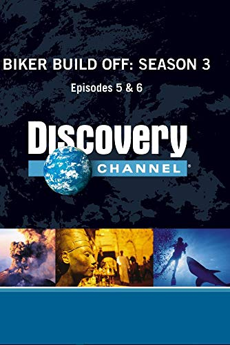 Biker Build Off Season 3 - Episodes 5 & 6 (Part of DVD set)