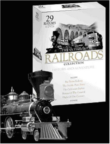 Ultimate Railroads 6 DVD Gift Set