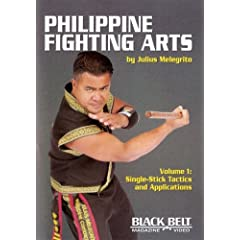 Philippine Fighting Arts by Julius Melegrito Vol. 1: Single-Stick Tactics and Applications