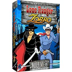 New Adventures of the Lone Ranger/Zorro Volume 2