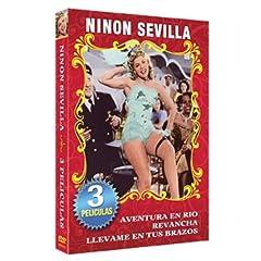 Ninon Sevilla-3 Peliculas Clasicas
