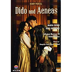 Purcell - Dido & Aeneas / Maria Ewing, Karl Daymond, Collegium Musicum 90
