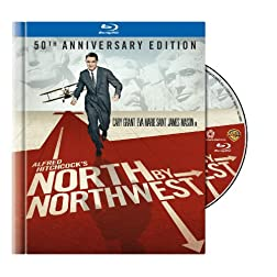 North by Northwest (50th Anniversary Edition Blu-ray Book) [Blu-ray]