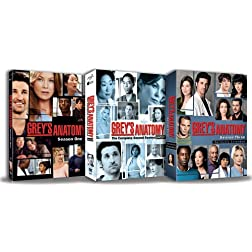 Greys Anatomy - Seasons 1 - 3