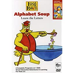 Look and Learn: Alphabet Soup - Lear the Letter