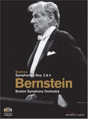 Bernstein: Brahms Symphonies nos. 2 & 4