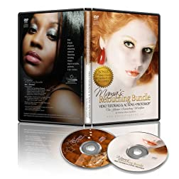Mama's Retouching Bundle DVD w/Bonus Mama's Chores Art Series #1 CD