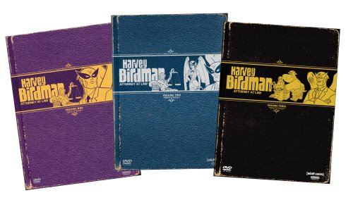 Harvey Birdman Attorney at Law 1-3 (6pc)