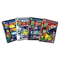 Teen Titans: Complete Seasons 1-4 (8pc) (Std)