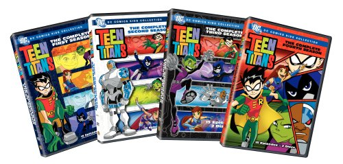 Teen Titans: Complete Seasons 1-4 (8pc) (Std)