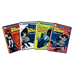 Batman: Complete Seasons 1-4 (8pc) (Std Dub Sub)