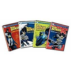 Batman: Complete Seasons 1-4 (8pc) (Std Dub Sub)