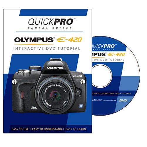 Olympus E-420 DVD by QuickPro Camera Guides [Interactive DVD]