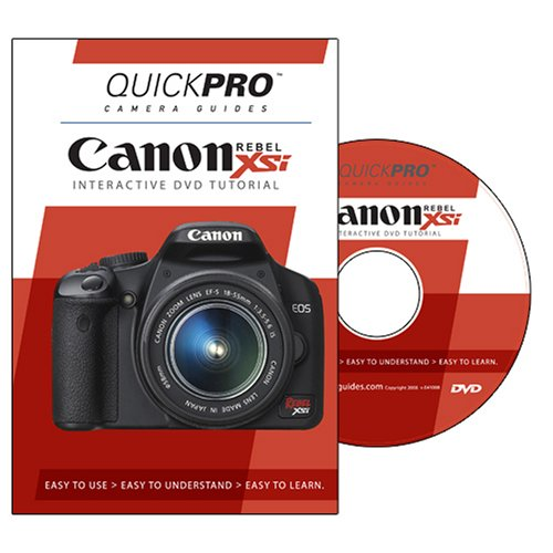 Canon Rebel XSi DVD by QuickPro Camera Guides [Interactive DVD]