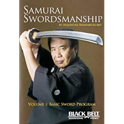 Samurai Swordmanship Vol. 1: Basic Sword Program by Masayuki Shimabukuro