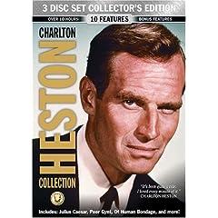 Charlton Heston Collection 3 Disc Collector's Set