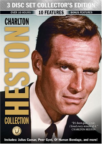 Charlton Heston Collection 3 Disc Collector's Set