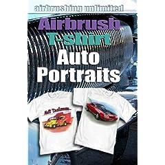 Airbrush T-shirt Auto Portraits