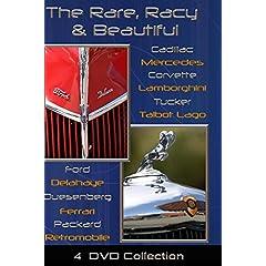 Rare, Racy and Beautiful - 4 DVD set