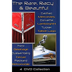 Rare, Racy and Beautiful - 4 DVD set