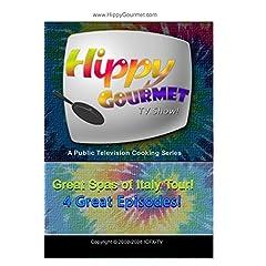 Hippy Gourmet - Great Spas of Italy Tour 4 Episode Set