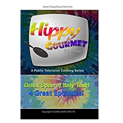 Hippy Gourmet - Great Spas of Italy Tour 4 Episode Set