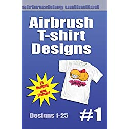 Airbrush T-shirt Designs #1
