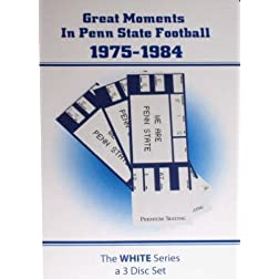 Great Moments In Penn State Football 1975-1984 (White Series)