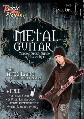 Rock House Method: Metal Guitar - Melodic Speed, Shred & Heavy Riffs, Level 1