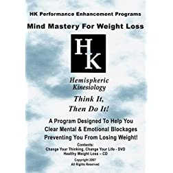 Mind Mastery For Weight Loss (DVD & CD)